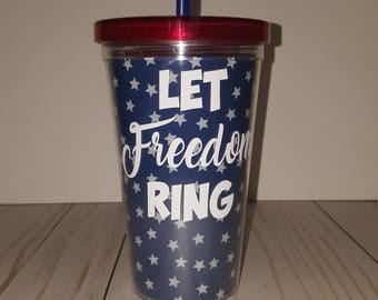 4th of July Tumbler