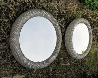 Pair of wall mirror Limburg circa 1960.