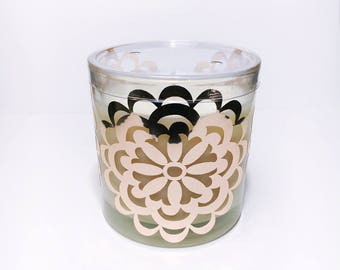 Rose Gold Soy Candle - Flower