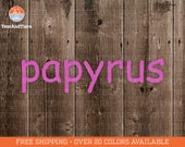 Papyrus - Vinyl Decal, Car Decal, Laptop Decal, Water Bottle Decal, Yeti Decal, Saturday Night Live, Parody, Avatar, SNL, Ryan Gosling