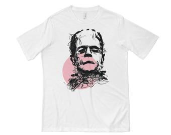 Frankenstein Pink Short Sleeve T-shirt