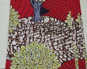 Multi colour Ankara fabric