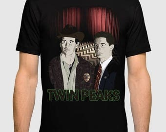 Twin Peaks David Lynch Men's Women's T-shirt