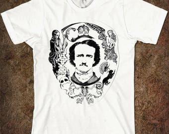 Edgar Allan Poe Art Men's Women's T-shirt