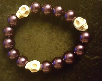Dark purple skull