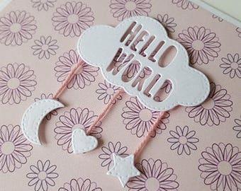 Handmade Card - New Baby