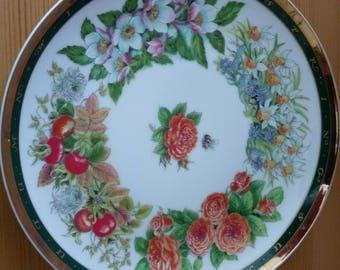 Vintage Pretty plate