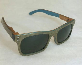Men's Grey Oak Wooden Sunglasses