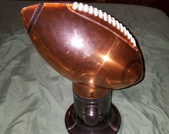 Retro Football Candy Dispenser Works Great