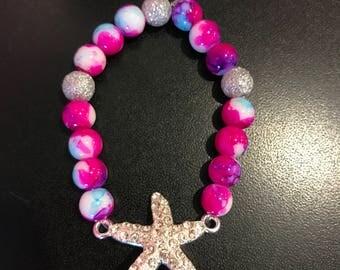Tie-Dye Starfish Bracelet