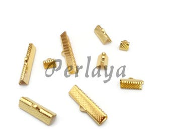 REF2643 - mixed 180 claw Gold 6mm - 8mm - 10mm - 13mm - 16 - 20mm - 25mm - 30mm - 35mm