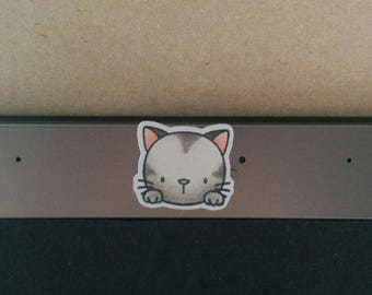 Cute Cat webcam cover (small) !Custom!