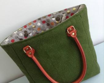 Handmade Harris Tweed Tote Bag
