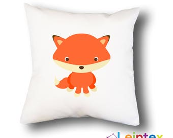 Pillowcase 40x40 pillow fox No2
