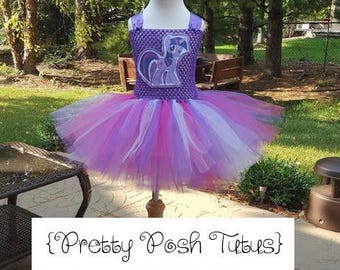 Twilight Sparkle costume tutu dress!! Halloween costume, tutu costume, birthday dress, My little Pony tutu dress, Twilight Sparkle costume,