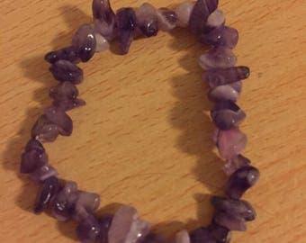 Amethyst bracelet (M)