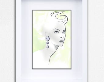 The Swan Limited Edition Framed Fine Art Print