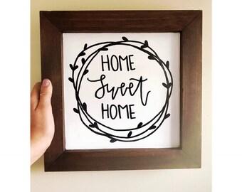 Home Farmhouse Sign