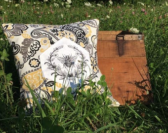 Neo Bee Pillow Cover