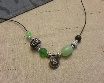 Custom Harry Potter House Bracelet - Slytherin