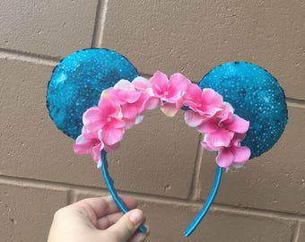 Avatar Inspired Minnie Ears!