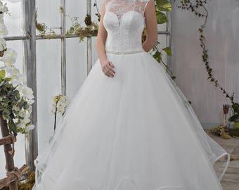 Wedding dress romantic wave skirt wedding dress bride dress MARIA