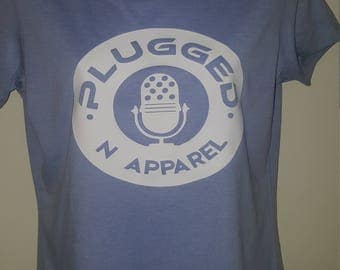 Plugged n apparel T-shirt w/mic