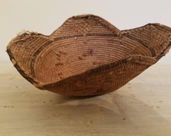 Antique Native American Tribal Basket