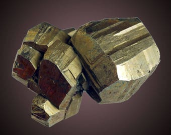 Pyrite; ZCA Pierrepont Mine, Pierrepont, St. Lawrence Co., New York, USA  --- fine and rare minerals