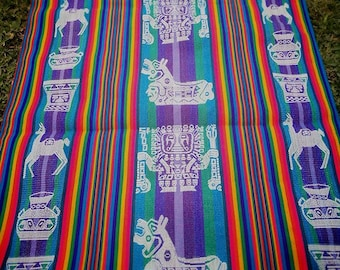 Andean fabrics and accessories
