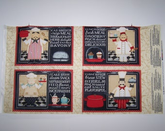 In The Kitchen 4 Placemats Panel