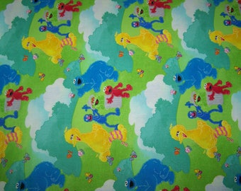 Sesame Street Coordinating Fabric