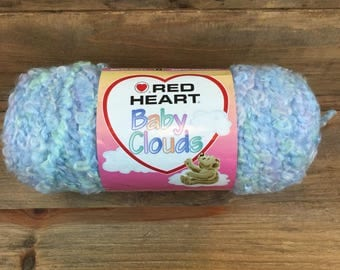 Red Heart Baby Clouds Playtime Multi Super Bulky 100% Acrylic Yarn New