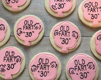 Old Fart cookie set