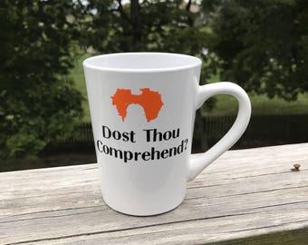 Dost thou Comprehend?