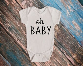 Oh, Baby Annoucement Onesies®