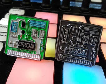EPROM computer chip pin