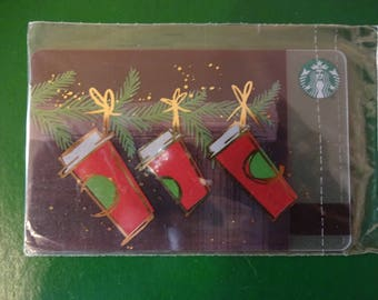 Starbucks cards, new, sealed. ANY DESIGHN.Price for 1.Many others.Write to ask.