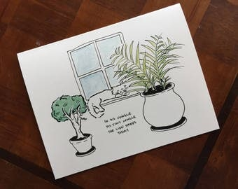 Tiny Lion Notecards (Pack of 5)