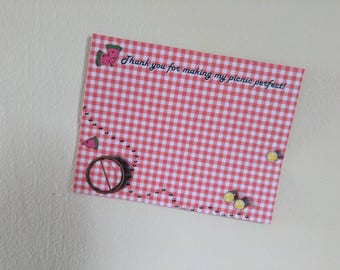 Picnic Themed Thank You Cards