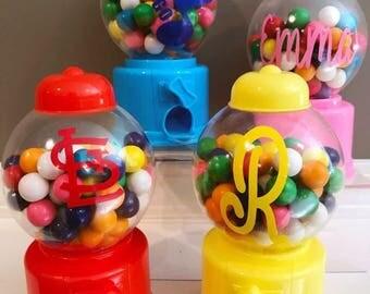 Personalized Bubblegum Machine