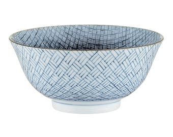 The unit in Japanese porcelain, tableware, gift, graphic Bowl