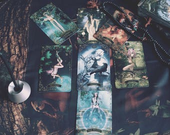 Forest Creatures Tarot Deck. Limited edition