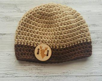 Newborn baby photo prop hat