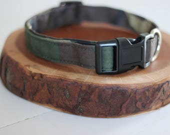 XL Camo Pet Collar