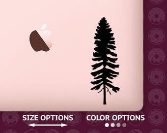 Pine tree, Pine tree decal, Pine tree vinyl, Pine tree sticker, tree decal, tree sticker, tree vinyl, tree vinyl decal, travel decal