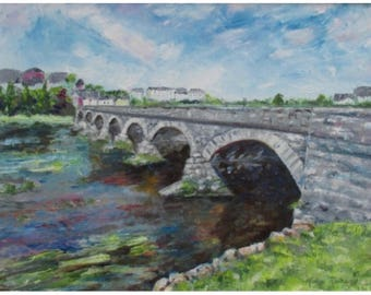 A2 Bridge over the River Laune, Kilorglin, Ireland