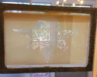 Vintage silk screen