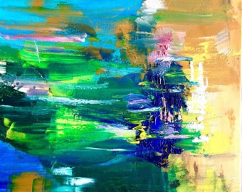 Abstract Oil Original Painting
