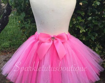 ON SALE, Birthday Tutu, Pink Tutu, Baby Tutu, Hello Kitty Inspired Tutu, Girls Tutu, Princess Tutu, Hello Kitty Tutu, Kids Tutu, Birthday